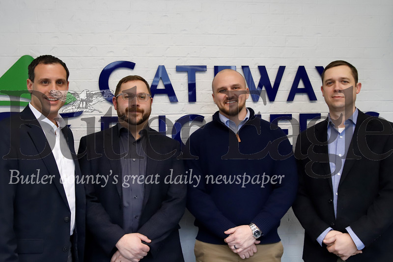 Gateway Engineers staff memebers from left to right: Dragan Lazic, Josh Andreyo, David Heath, Aaron Richardson.