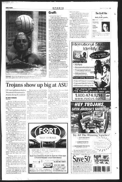 Daily Trojan, Vol. 151, No. 55, April 13, 2004