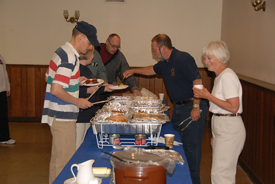 William Parkman Hosts Breakfast  May 2007