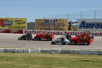 USAC Sprint Cars and Midgets, Toledo Speedway, Toledo, OH, July 2, 2010