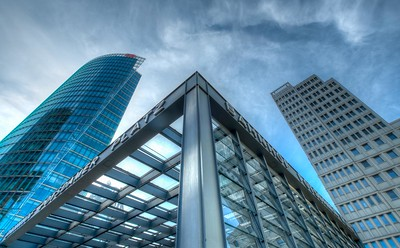 Potsdamer Platz & The Sony Center, Berlin, Germany, 2014