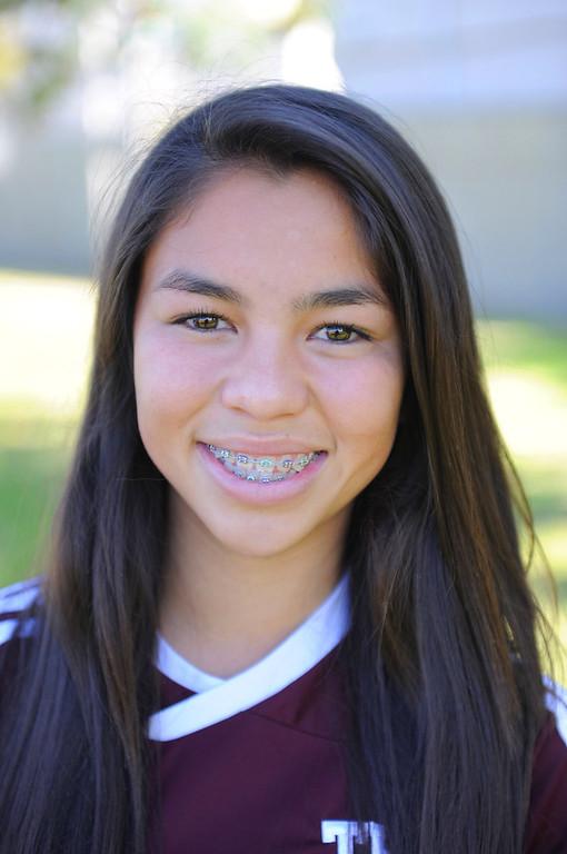 . Kealani Tiratira #13 Torrance High School soccer 2/13