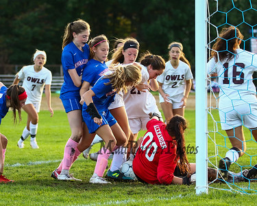 2018-10-3 WHS Girls Soccer vs Timberlane