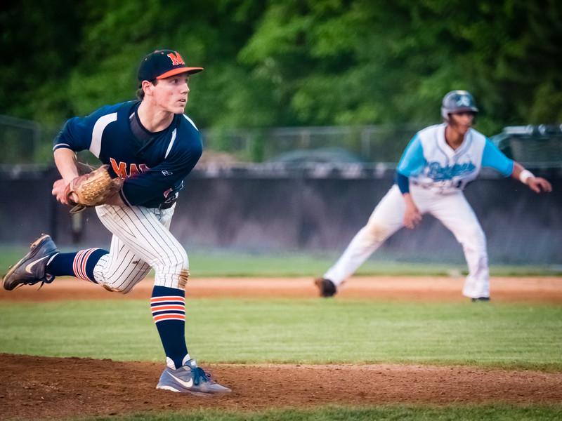 2016-05-24 Maury v Indian River Varsity Baseball