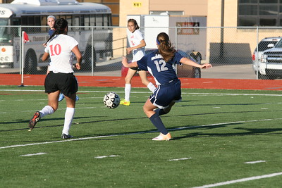 Ladies Soccer - Shuts Out Great Bend 1-0 2016