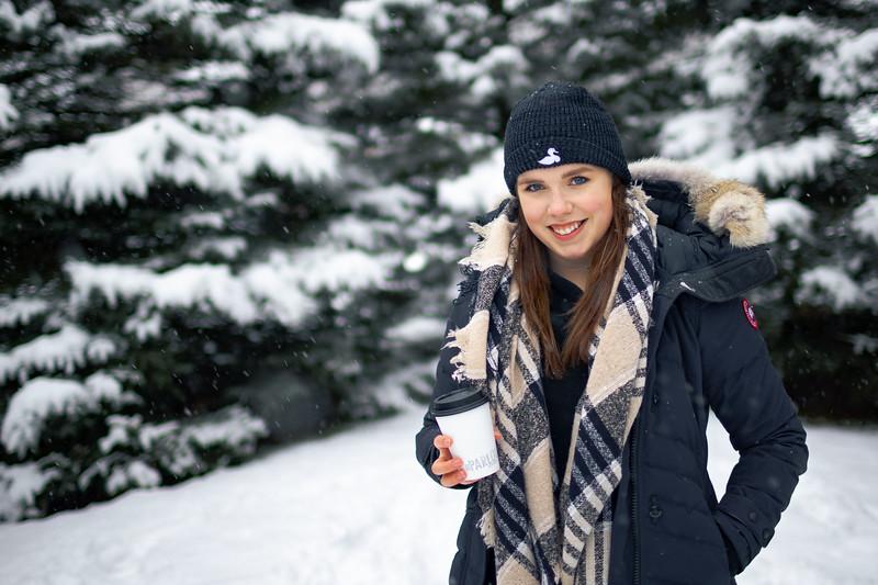 Natalie in the Secret Garden at Bannerman Park