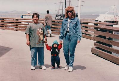 1995-08 | Kathy's Visit | California - San Francisco