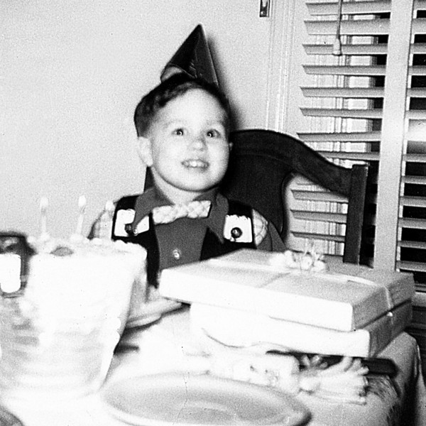 Happy Birthday on my 3rd in 1953