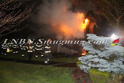 Massapequa F.D. Condo Fire 65 Southgate Circle 5-31-15