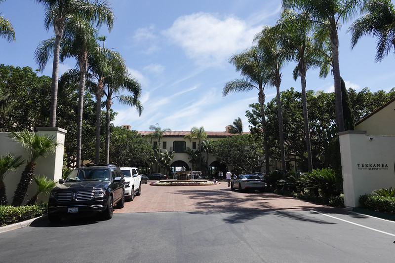 The entrance to Terranea resort in Rancho Palos Verdes