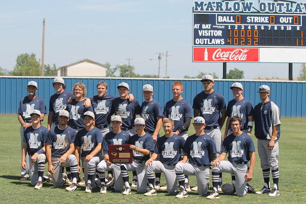 2014 Class 3A baseball regional final Marlow vs. Sulphur