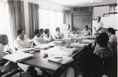 1976 - SEMINAR PENGURUS PINJAMAN DI RUMAH MARA