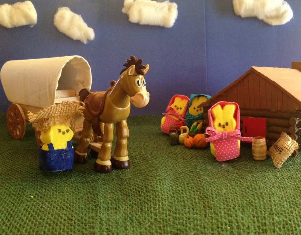 ". \""Little PEEPS on the Prairie,\"" by Emma Larson"