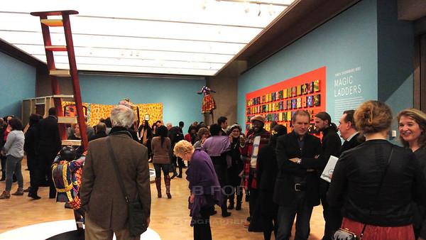Jan 24, 2014  Opening Party, Uinka Shonibare MBE @ The Barnes Foundation