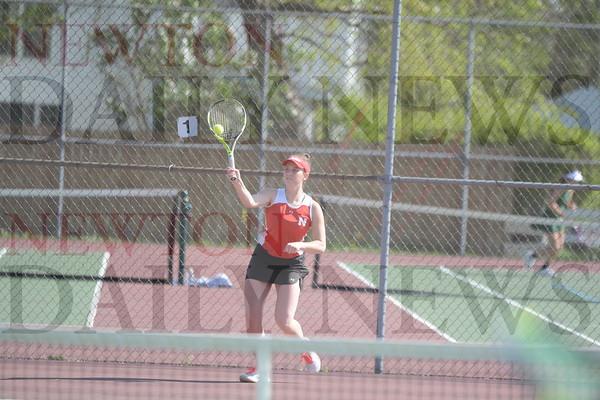 Newton Girls Tennis vs. Pella 5-4-21