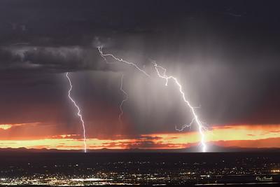 Thunderstorm Northwest of El Paso
