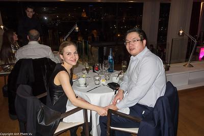 Dinner Paris Maison Blanche Jan 2014