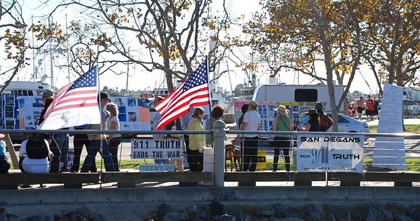 San Diegans for 9/11 Truth - Outreach Compilation