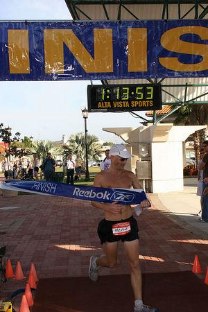 Half-Marathon Finish