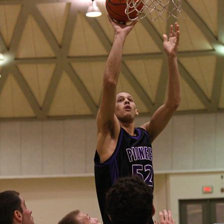 Pioneer at Huron - JV basketball 2007