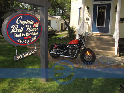 Captain Bell House in Historic Vermilion, Ohio..more enhancements, August 2013