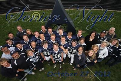 2012 Senior Night (10-26-12)