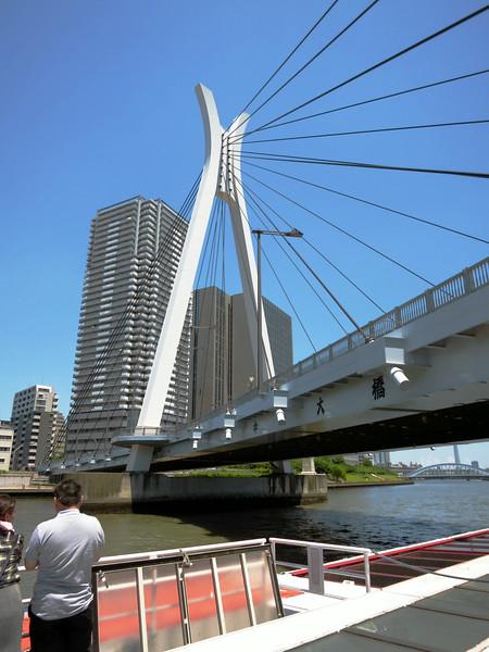 Chuo-ohashi  suspension bridge, 1994