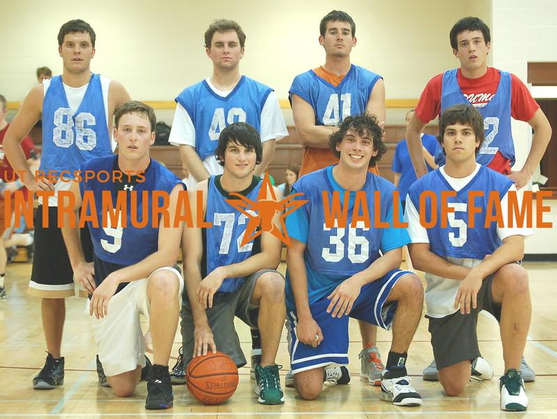 BASKETBALL Fraternity Runner-Up SPRING 2008  SIG EP  R1: Nell Solomon, Spencer Mactier, Ricky Johnson, Garrett Sacco R2: James Marsico, Rob Litterst, Thomas Kleiderer, Justin Kleiderer