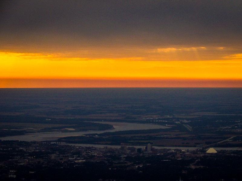 October 6 - Sunset over Memphis_ Tennessee-1.jpg
