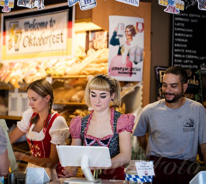 Ashlee, Jackie, and Stephen Durning Oktoberfest 2015