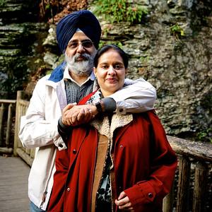 BK Singh Family-Oct 2014