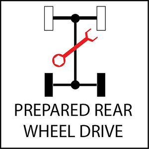 Prepared Rear Wheel Drive Cars