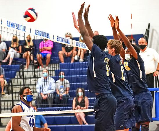 Newington Volleyball Block