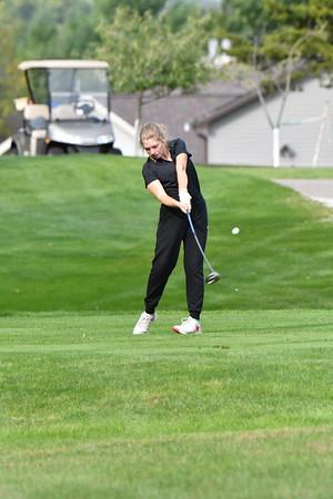 Girls Golf at Crete Invite