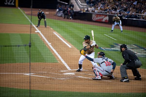 April 2010 Atlanta Braves at San Diego Padres