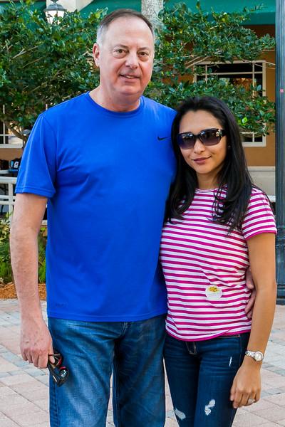 Commissioner Thomas Kallman and Elena Kallman