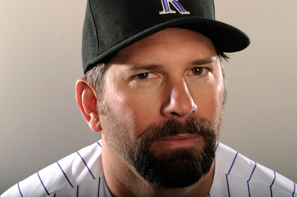 . Todd Helton during spring training at Salt River Fields at Talking Stick in Scottsdale, Arizona on Tuesday, February 28, 2012. AAron Ontiveroz, The Denver Post