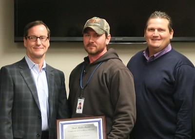 Bud Hilleshiem 1st Annual Excellence Award 2015