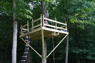Beekeeping, Maple Syrup, and Treehouse
