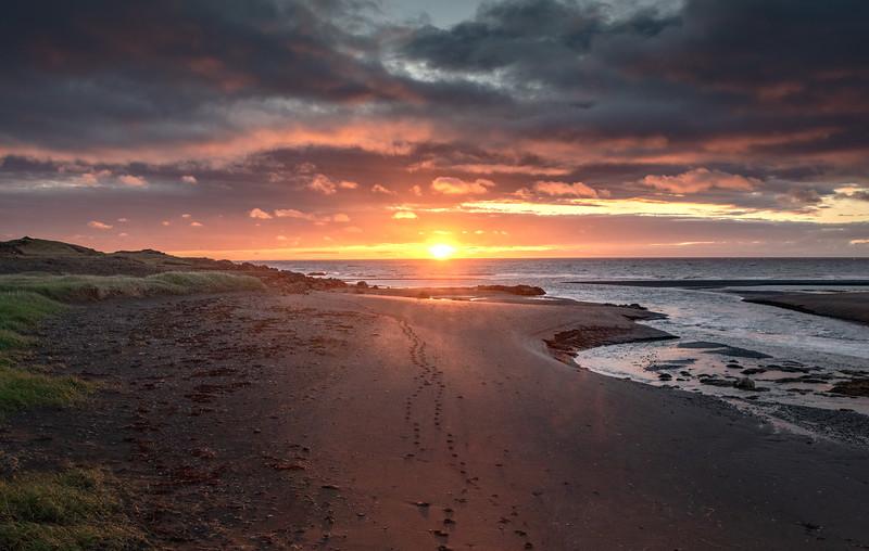 Icelandic Footprints to the Sun   Photography by Wayne Heim