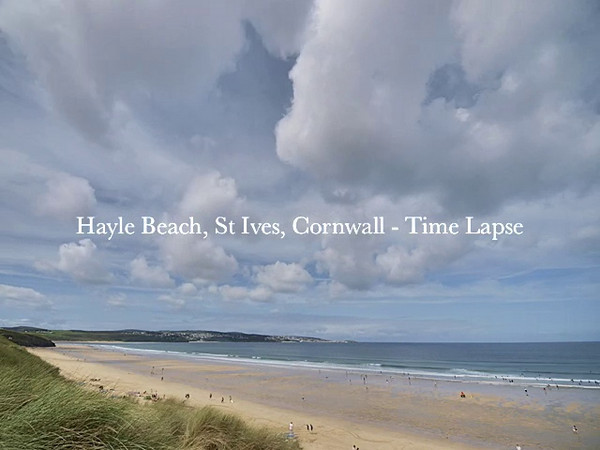 Whilst taking a few days break in glorious Cornwall I took the opportunity of capturing some coastal time lapse action. The tidal movement adds to to some great wind shear and cloud motion.