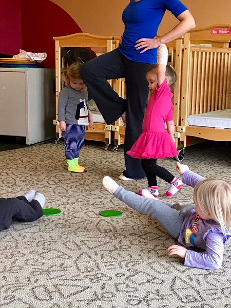 Day Care Dance Class
