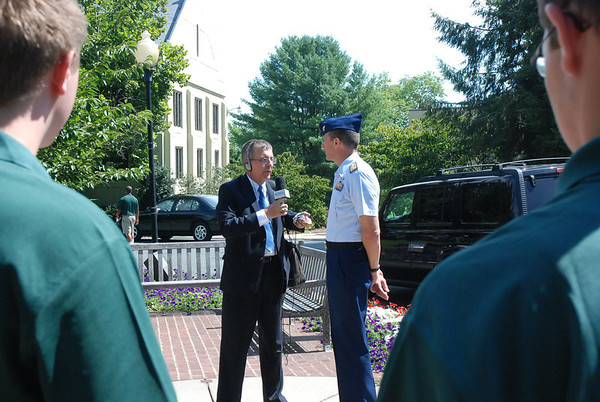 RADM J. Scott Burhoe Arrives at FUMA