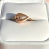 1.86ct Rustic Rose Cut Diamond Bezel Ring 10