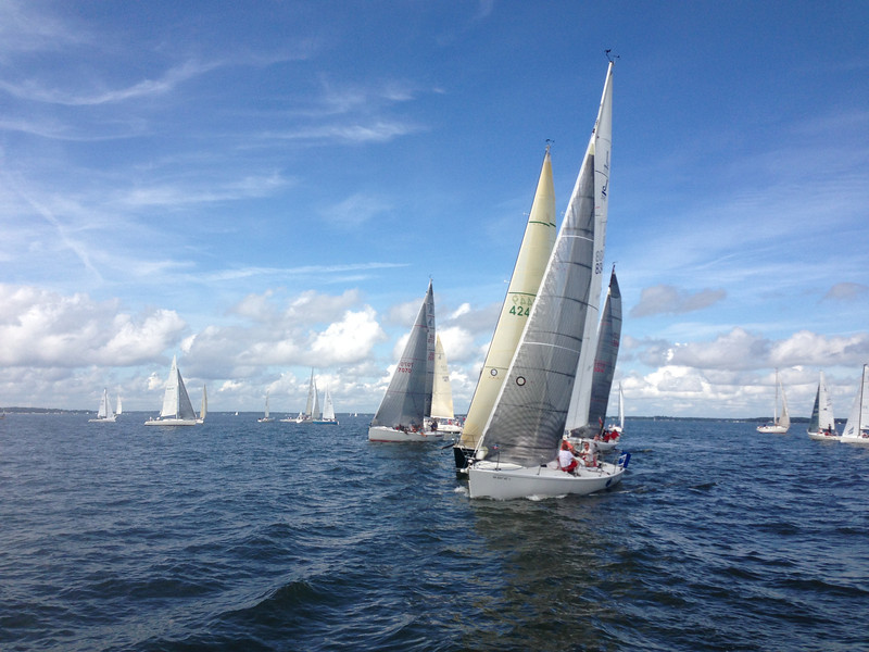 7/14 Leukemia Cup  Sunday race 1 start.