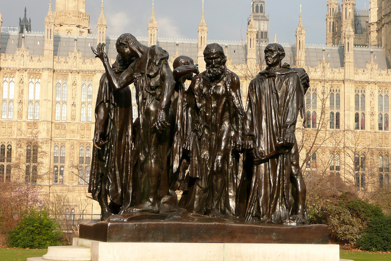 The Burghers of Calais. London