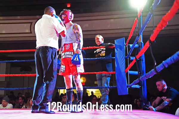 Bout #10:  Luke Freshour (Blue Gloves), Old Angle BC  vs  Hamza Abedrabo (Red Gloves), Stgrong Style, 152Lbs., Novice