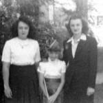 JoeAnne, Maudeen,Bette Eldredge 1942