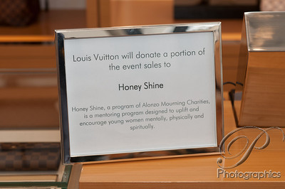Tracy Mourning Event at Louis Vuitton Northpark Mall