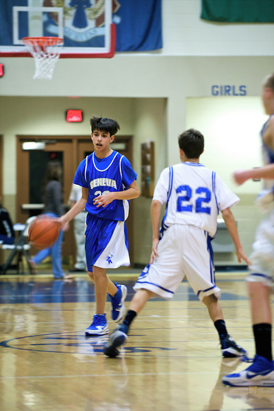 7th/8th Grade Basketball Tournament vs. MDB-February 5, 2010